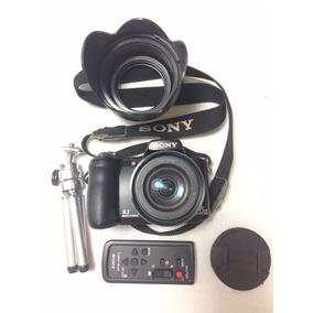 Câmera Fotográfica Digital Sony Dsc-h50 - Zoom 15x - 9.1 Mp