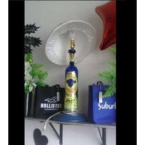 Lampara Con Base De Tequila Corralejo Botella De 1.7 Lts.