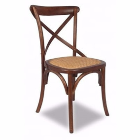 Cadeira Katrina Paris Natural Em Madeira - Produto Novo.