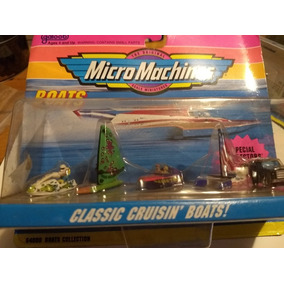 Mis Micromachines Orig Limited Edition Boats Micro Machines