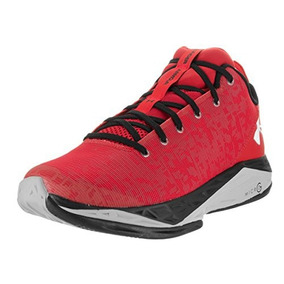 Under Armour Fire Shot Zapatillas de baloncesto para hombre, negro/blanco, 10,5