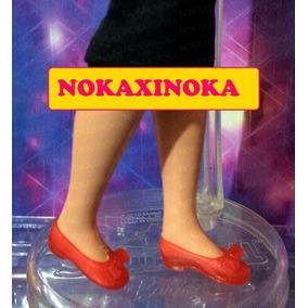 Sapato Pra Boneca Susi Antiga Anos 70 80 90 * Vermelho