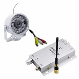 Mini Câmera Color Infrared Com Áudio E Receptor Sem Fio