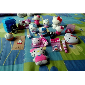 Lote De Piezas Figuras Hello Kitty