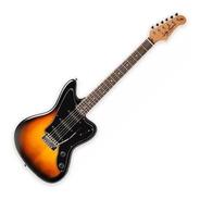 Guitarra Jaguar Jay Turser Tobacco Sunburst Estilo Fender
