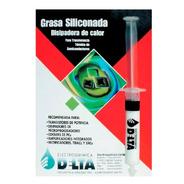 Grasa Siliconada Disipadora De Calor 10cc Jeringa Delta