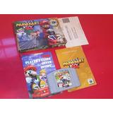Nintendo 64 Mario Kart 64 Completo En Caja Y Manuales