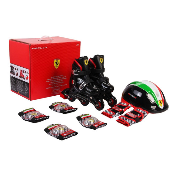 Set Rollers Para Ni?os Ferrari Fk7 Talle Extensible