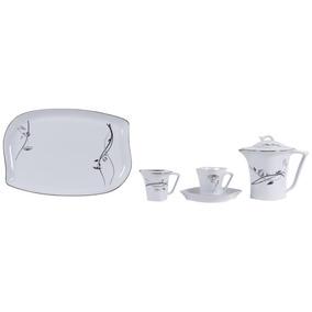Jogo De Jantar Porcelana Com Platin Para 12 Pessoas (iran)