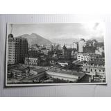 Postal Santiago De Chile Vista Panoramica. Foto Mora Años 50