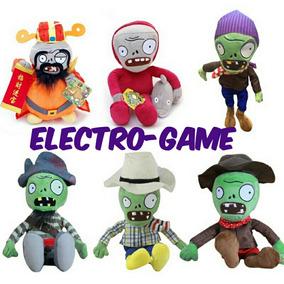 Plantas Vs Zombies*personajes De Peluche-gigante*sup-calidad