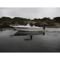 Casco Em Fibra Lancha Fishing 25