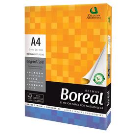 Resma Boreal A4 90 Gr 21 X 29,7 Papel Extra Blanco Alcalino
