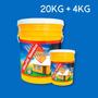 Membrana Líquida Sika Sikafill Térmico Techos 20 + 4kg
