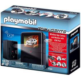 Playmobil 4879 Camara De Espionaje!!!