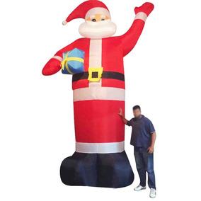 Papai Noel Inflavel 5 Metros Altura Decoraçao Natal Gigante