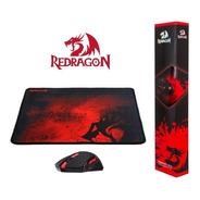 Kit Pc Gamer Mouse Inalambrico Mousepad Redragon M601wl-ba