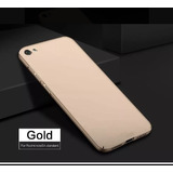 Case Slim Xiaomi Redmi Note 5a Color Dorado Ajuste Perfecto