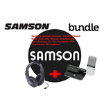 Samson Go Mic Usb Compressor Microphone With Sr350 Over-ear