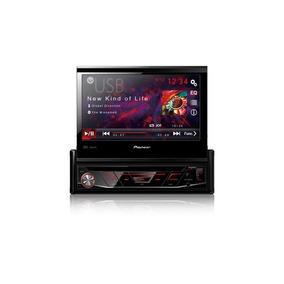 Dvd Player Pioneer Avh-3880dvd 1 Din 7 Pol Retrátil Usb Mp3