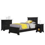 Home Styles 5531-4021 Cama Doble Bedford, Mesita De Noche...