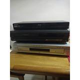 Blue Ray Samsung, Lector Dvd X 5 Cds, Y Vhs Jvc