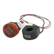 Voltimetro Amperimetro Ojo Buey Led 100a 22mm 500v Tbcin