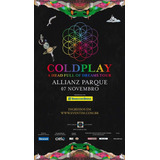 Ingresso Pista Inteira Coldplay (e-ticket)