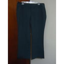 Pantalon D Vestir Gris C/raya D Gis Mossimo 12 Amer 38 Mex.