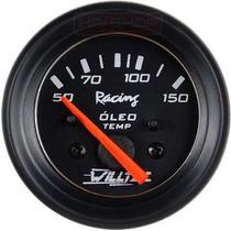 Temperatura Do Óleo Willtec 52mm Medidor Bomba Motor Carro