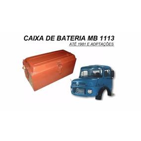 Caixa Bateria Caminhao Mb 1113 Até 1981 Adaptação