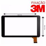 Tela Vidro Touch Screen Tablet Tablet Icc Tab 740b + 3m