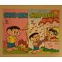 Lote 2 Gibis Chico Bento #1 #2 Globo Jan. Fev. 1987 Raridade