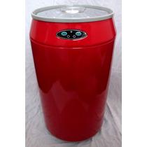 Lixeira Automática Lata Refrigerant Em Inox 30l Frete Grátis