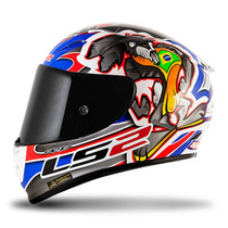 Capacete Ls2 Arrow R Ff323 Réplica Alex Barros Carbono