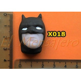 Molde De Silicona Cara De Batman