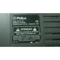 Peças Partes Componentes Placas Televisão Tv Philco Lt20-hmf