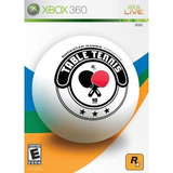 Table Tennis Xbox 360 Y Xbox One