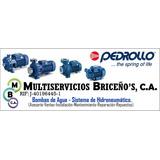 Mantenimiento Prev. Bomba Agua Pedrollo 1/2 -0,5 Hp