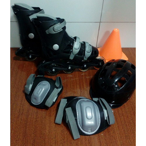 Kit Roller Masculino Preto