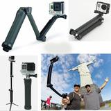 3 Way Selfie Monopodo Tripode Multifunción Para Gopro
