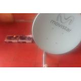 2 Decodificador +antena Movistar