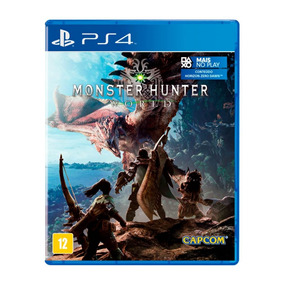 Jogo Monster Hunter World Mídia Física - Ps4