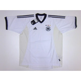 Camiseta Original Alemania Titular, Mundial 2002 adidas