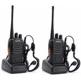 Handie Baofeng Bf-888s Uhf Recargable Factura A / B