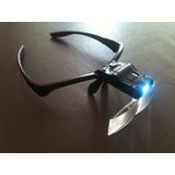 Óculos Com Kit De Lentes E Luz De Led P/conserto Celular