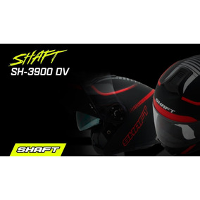 Casco Shaft 3900 Abatible Doble Visor Certificado