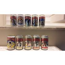 Latas De Cerveja Antarctica Da Década De 90