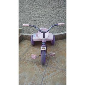 Triciclo Princesas Disney Apache Usado Rosa Frozen