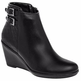 Botas Para Damas Emyco Color Negro Tacón 8 Cm